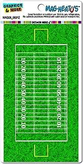 Graphics and More Football Field - Touchdown Automotive Car Refrigerator Locker Vinyl Magnet