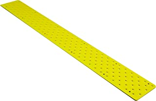 """HandiTreads NST103748YLB Handi Non Slip Aluminum Safety, 3.75"""" x 48"""" with Color Matching Wood Screws, Each Stair Tread, Po..."""