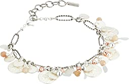 Chan Luu Adjustable Charm and Coin Bracelet
