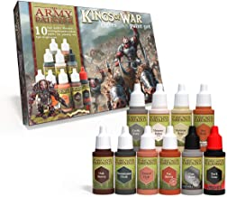 The Army Painter ???? | Kings of War Ogres Paint Set | 10 Acrylic Paints for Painting Fantasy Ogre Infantry and Ogre Warmachines | Wargames Miniature Model Painting