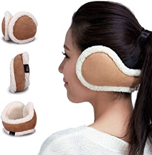 Women Ear Warmers Foldable Cold Winter Adjustable EarMuffs Girls Warm Outdoor Ear Muffs