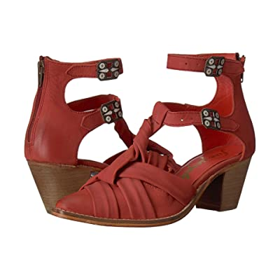 Free People Canosa Ankle Boot (Red) Women