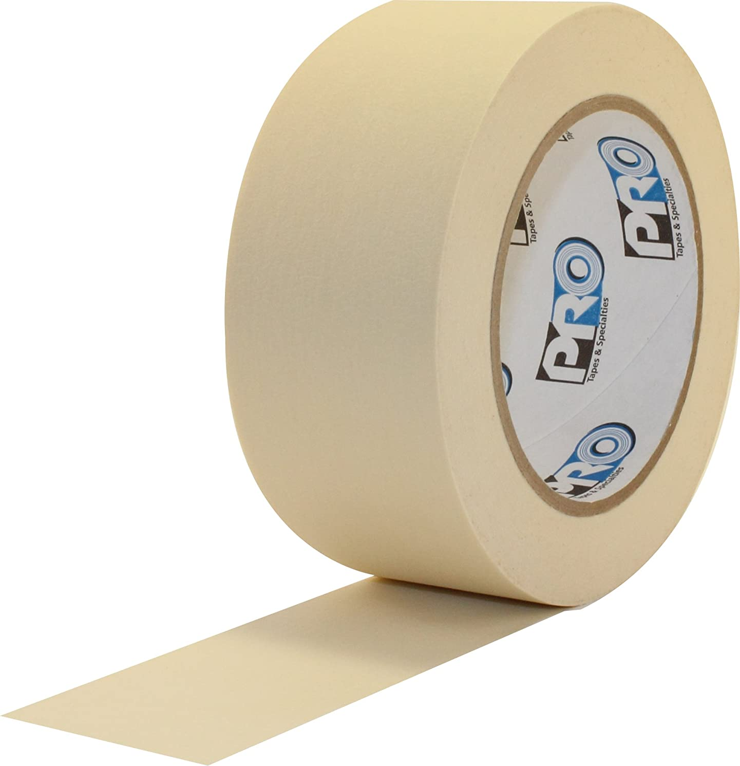 ProTapes Pro 795 Crepe Paper General Purpose Masking Tape, 60 yds Length x 1