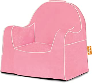 P'kolino Little Reader with White Piping, Solid Pink