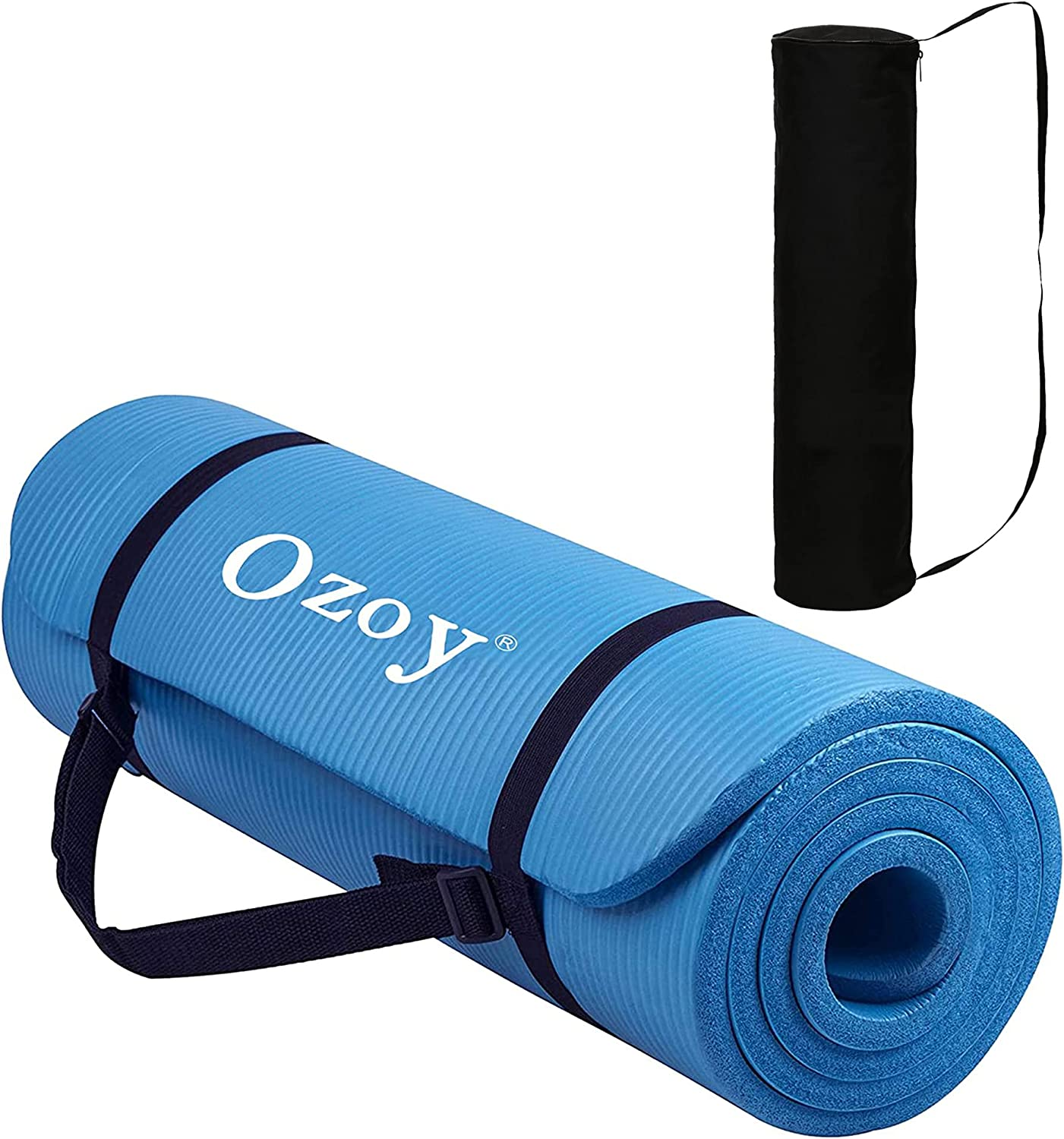 Sampri 13 mm Extra Thick Yoga and Exercise Ranking TOP13 Skid with 5 ☆ popular Anti Mat Ca