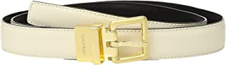 Calvin Klein womens Stitched Edge Reversible Belt Belt