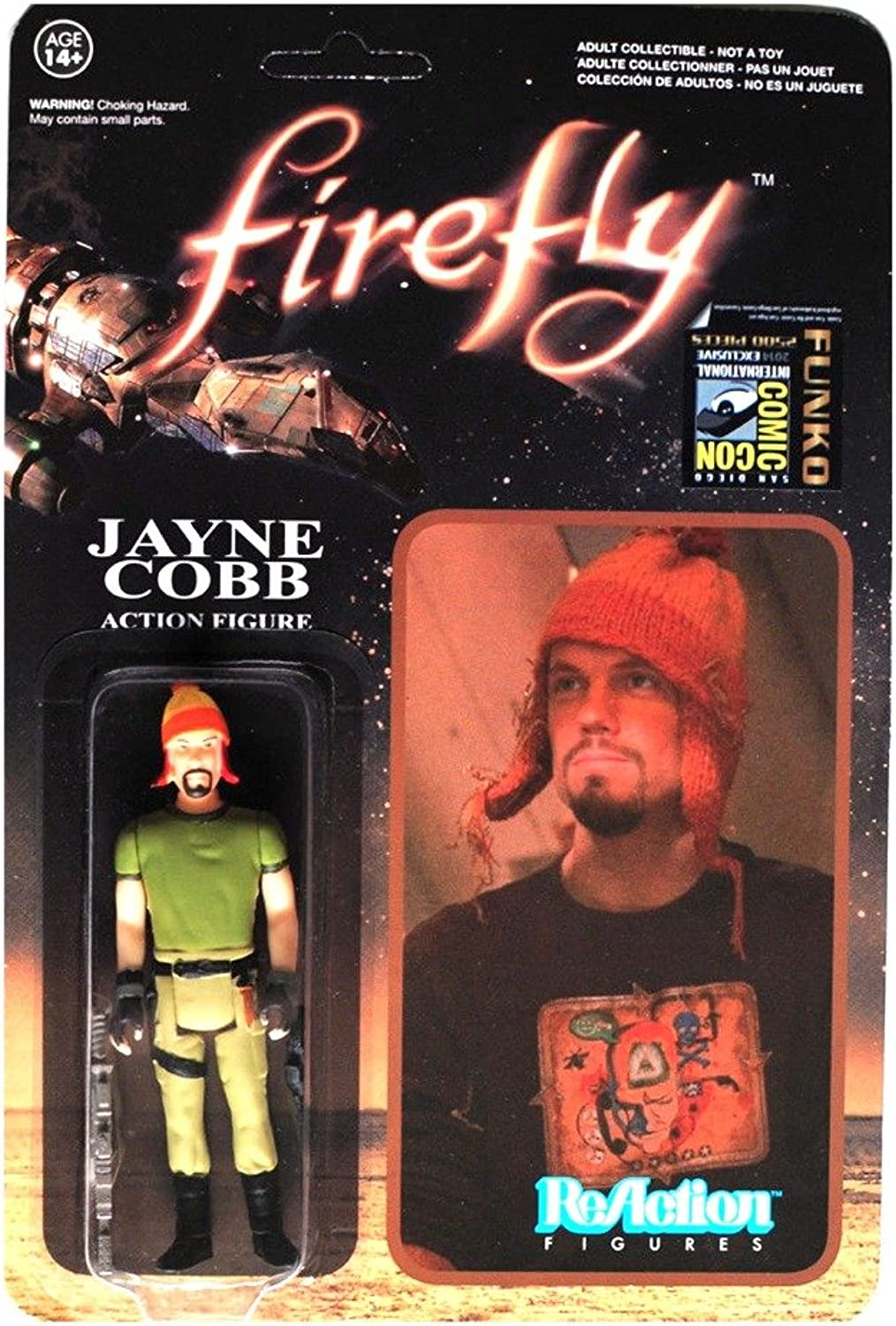 Jayne Cobb with Hat Firefly ReAction SDCC Exclusive Action Figure