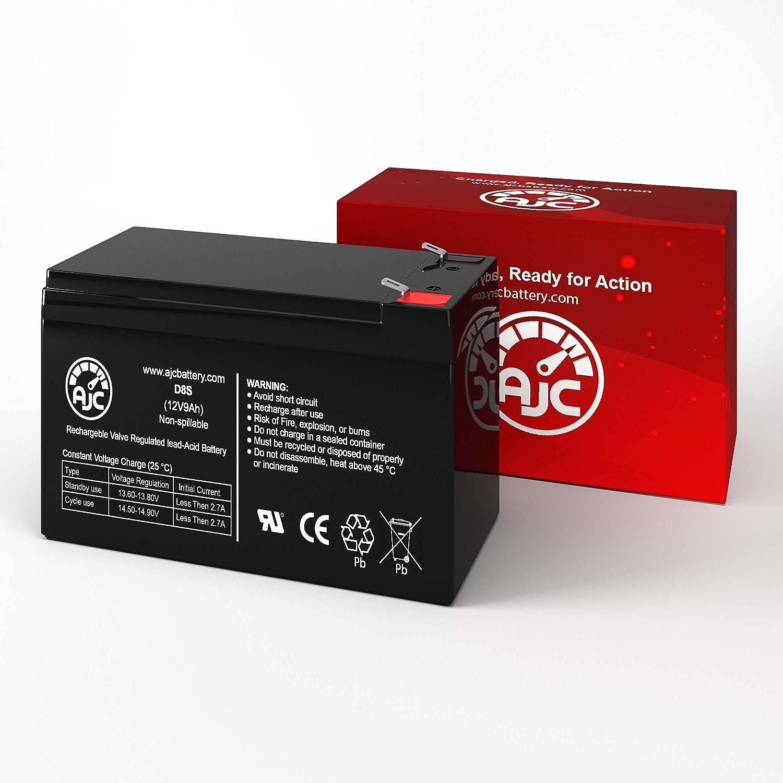 AJC Battery Compatible with Minuteman Enspire EN750 12V 8Ah UPS Battery