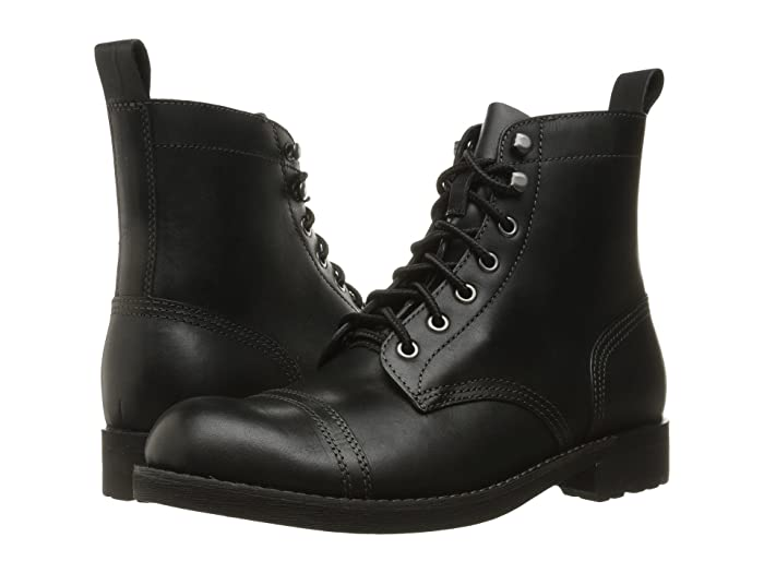 Vintage Boots, Retro Boots Eastland 1955 Edition Jayce Black Mens Lace up casual Shoes $160.00 AT vintagedancer.com