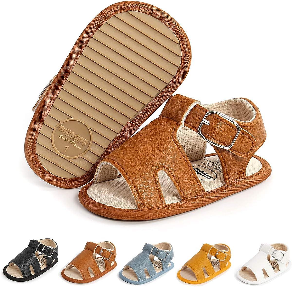 HULYKA Baby Discount mail order Girls Boys Discount is also underway Sandals Rubber Soft Premium Sol Anti-Slip