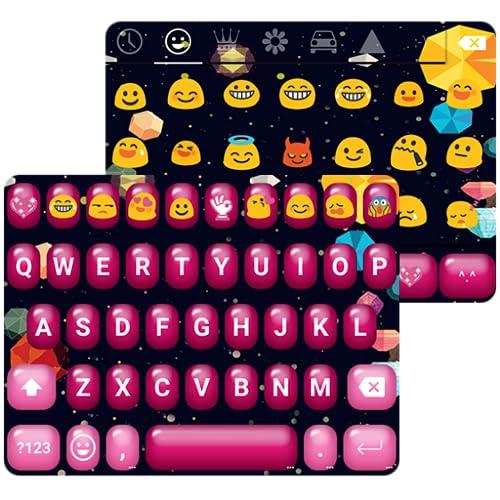 Sweet Love Emoji Keyboard Theme
