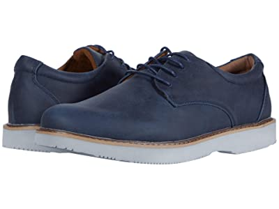 Deer Stags Walkmaster Plain Toe Oxford (Navy) Men