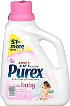 Purex Liquid Laundry Detergent, Baby, 75 oz (50 loads) (Pack of 5)