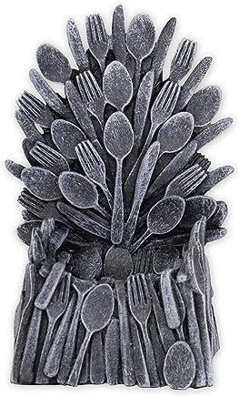 Preisvergleich für Egg of Thrones Eierbecher Miniatur Replica Eisen Thron Neuheit Geschirr