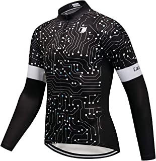 Coconut Ropamo Winter Cycling Jersey Thermal Fleece Long Sleeves Bike Shirt Cycling Jacket Riding Wear Bicycle Clothes