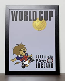 England 1966 World Cup Poster (A3) - 29.7cm x 42.0cm