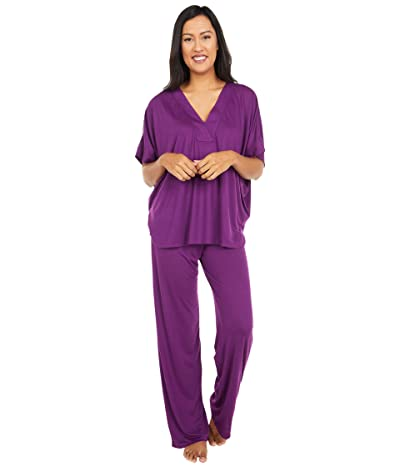 N by Natori Congo PJ Set (Vivid Plum) Women