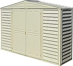 Duramax 98001 Woodbridge 10.5' x 3' Outdoor Storage Shed, 3'