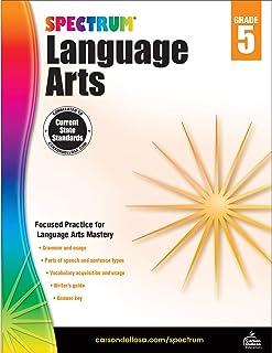 Carson-Dellosa Spectrum Language Arts Workbook, Grade 5