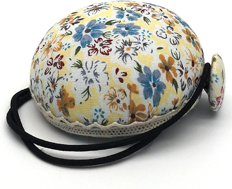 KJLJK Pin Cushion for Wrist Pin Holder with Elastic Strap Sewing