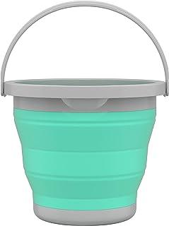 Balde 5 Litros Retrátil Verde Água, RET3512, Flash Limp