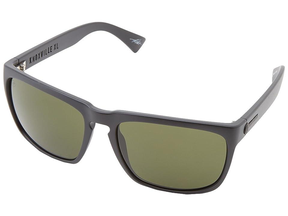 Electric Eyewear Knoxville XL Polarized (Matte Black/M Gry) Sport Sunglasses