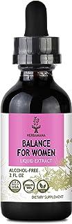 Balance for Women Liquid Extract 2 fl oz | Women's Health Supplement | Hormone & Menstrual Support | All-Natural Liquid | ...