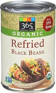 365 Everyday Value, Organic Refried Black Beans, 16 oz