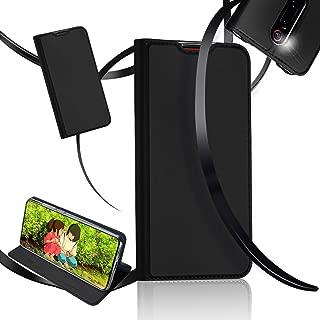 Xiaomi Mi 9T ケース 手帳型 Redmi K20 ケース カバー 耐衝撃 カバー 高級PUレザー スマホケース スタンド機能 カード収納付き DUXDUCIS (Mi 9T/Redmi K20 用, ブラック)