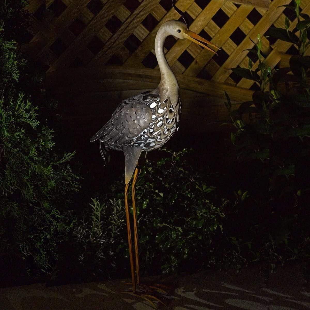 garden mile /à/énergie Solaire Allumer Conduit Girafe Poulet cuivre Effet m/étal Jardin Animal Sculptures Superbe Polyvalent d/écoration Jardin d/écoration Cow