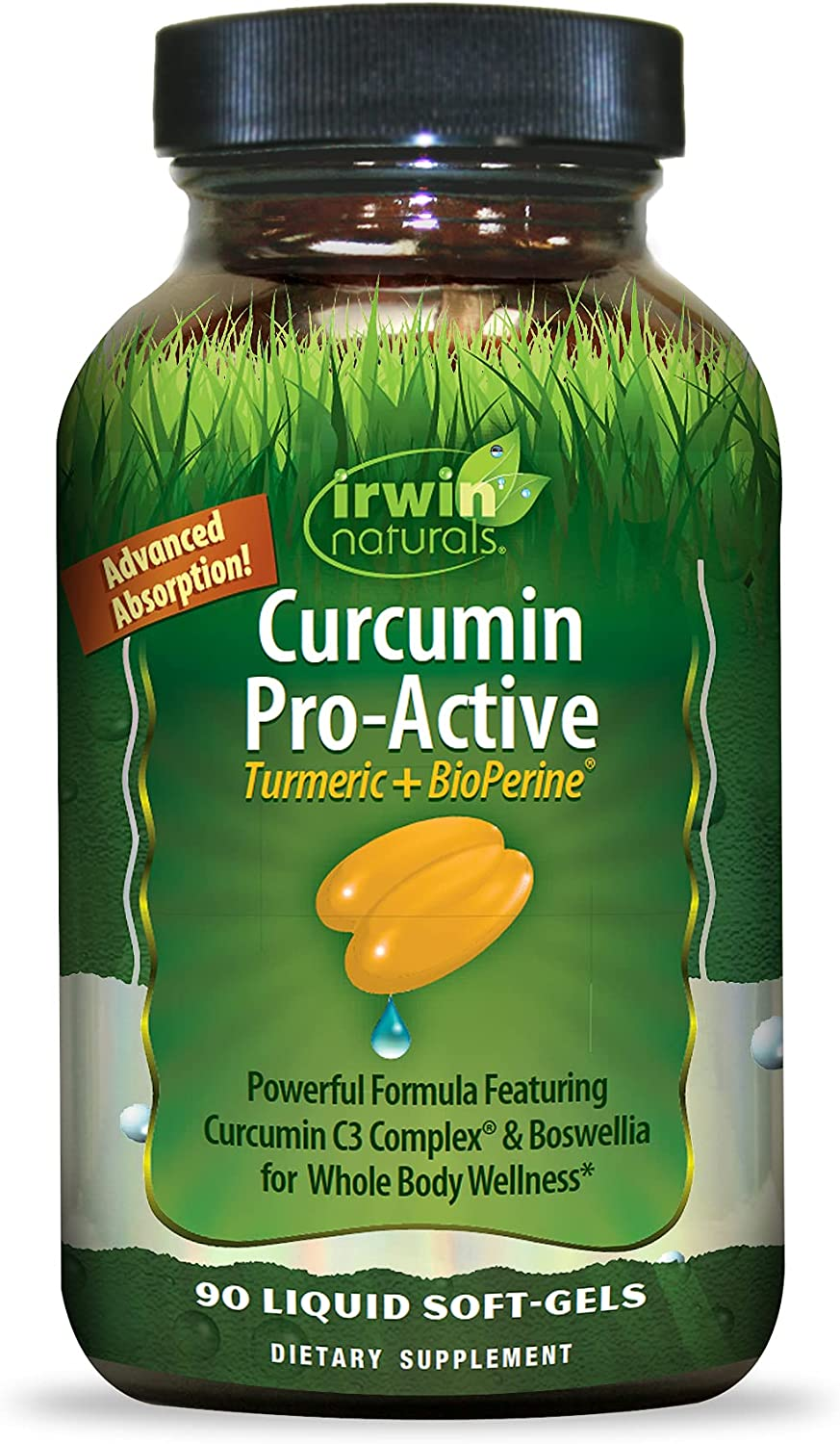 IRWIN NATURALS Curcumin Pro-Active High quality Our shop OFFers the best service BioPerine + Turmeric 90ct