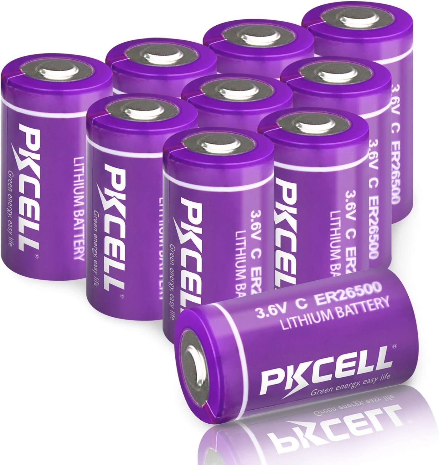 出荷 3.6V C Size Lithium Battery Lo ER26500 9000mAh Li-SOCl2 開店祝い