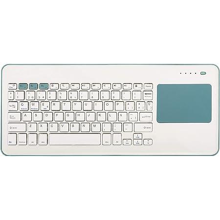 TICTID 2.4GHz Mini Teclado inalámbrico Touchpad ratón ...