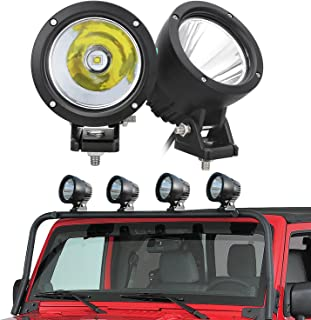 SUPAREE LED Driving Light, LED Work Light Pod Lights Work Lamp for Off Road 4x4 Pickup Truck Motorcycle Jeep SUV Truck Wrangler Boat Tractor