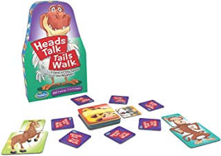 ThinkFun Heads Talk Tails Walk Preschool Toy and Game for Boys and Girls Age 3 and Up - A Silly Game of Sounds and Movement