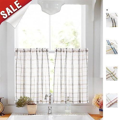 Cafe Curtains For Bathroom