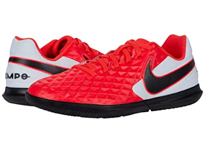 Nike Kids Jr Legend 8 Club IC Soccer (Toddler/Little Kid/Big Kid) (Laser Crimson/Black/White) Kids Shoes
