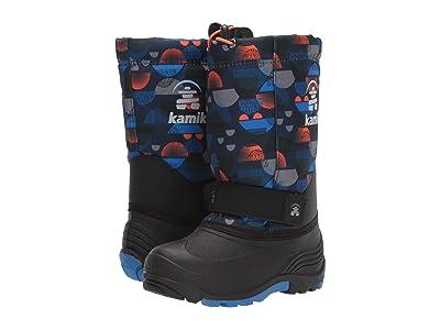 Kamik Kids Rocket 2 (Toddler/Little Kid/Big Kid) (Navy/Strong Blue) Boys Shoes