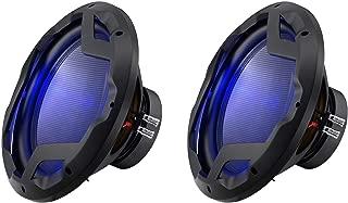 Boss Audio 12-Inch 1600-Watt Subwoofer with LED Illumination (2 Pack)