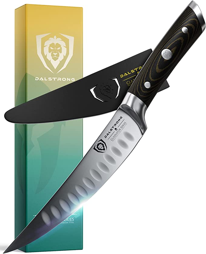 """711 opinioni per DALSTRONG Gladiator Series Fillet & Boning Knife- 6""""- German HC Steel- Curved"""