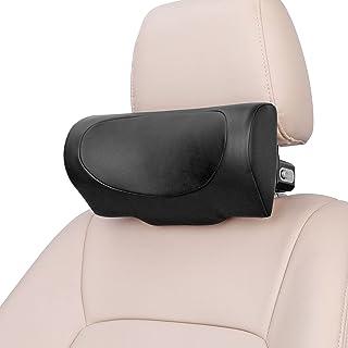 Car Neck Pillow, CANLER Premium Interior Accessories Headrest Support for Driver & Front Passenger Seat -Auto Gadgets (Black)