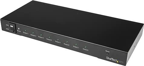 StarTech.com 4K 60hz HDMI Splitter - 8 Port - HDR Support - 7.1 Surround Sound Audio - HDMI Distribution Amplifier - HDMI 2.0 Splitter (ST128HD20)
