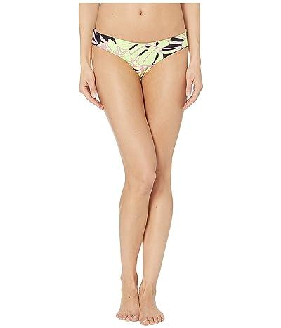 Maaji Shellina Sublime Reversible Signature Coverage Bikini Bottoms (Artemis Lime Floral) Women