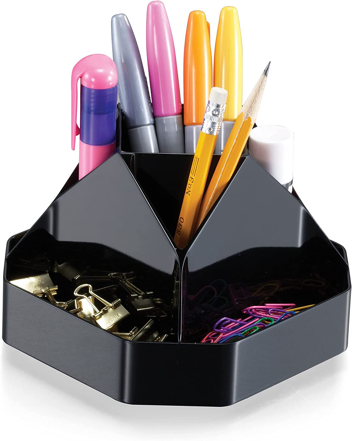 Officemate OIC Recycled Compact Sale Rotary Organizer 9 Compartments Max 72% OFF