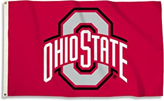 BSI NCAA College Ohio State Buckeyes 3 X 5 Foot Flag with Grommets