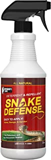 Exterminators Choice Snake Defense Natural Snake Repellent - Effective and Safe Spray 32oz| for All Types of Snakes|……