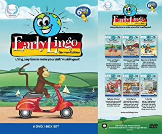 Early Lingo German 6-DVD Box Set