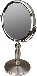 Floxite Fl-15v 15 Extra Strong 15x/1x Supervision Vanity Mirror, Brushed Nickel