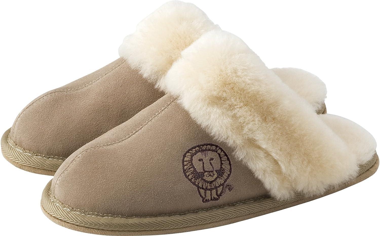 Lisa Larson Mouton Slippers Lion