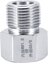 CO2 cylinderadapter 4 storlekar CO2 cylinderadapterkontakt CO2-regulatorer konverterare lätt att installera tätningsring a...